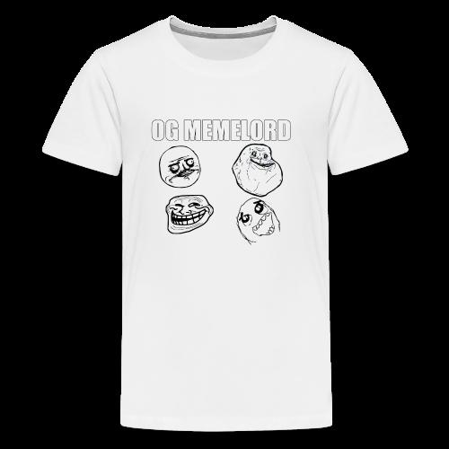 OG MEMELORD - Kids' Premium T-Shirt