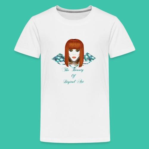 The Beauty of Digital Art - Kids' Premium T-Shirt