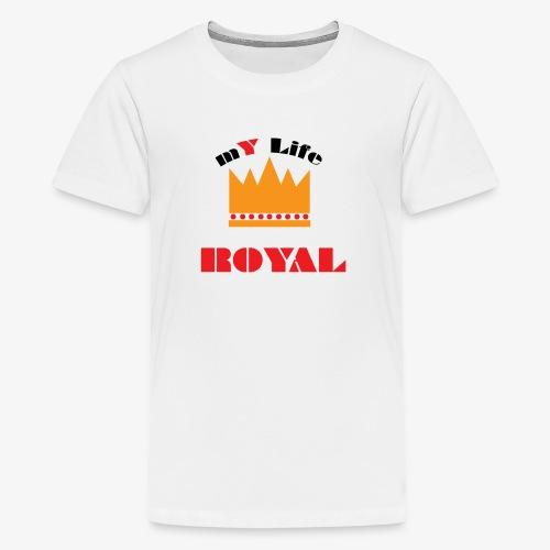 mYLifeROYAL - Kids' Premium T-Shirt