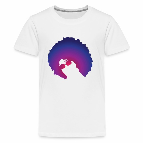Afro - Kids' Premium T-Shirt
