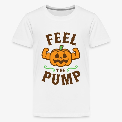 Feel The Pump - Kids' Premium T-Shirt
