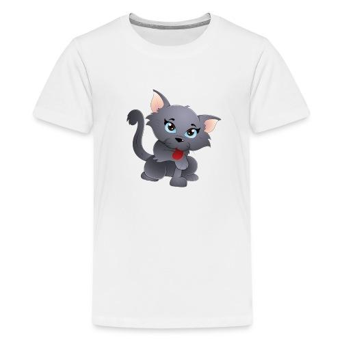 cute baby cat - Kids' Premium T-Shirt