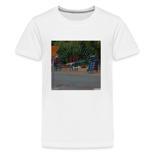 t-shirt cougar canyon tracks - Kids' Premium T-Shirt