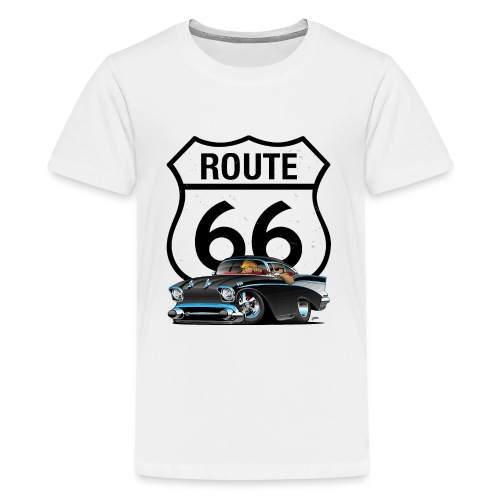 Route 66 Classic Car Nostalgia - Kids' Premium T-Shirt