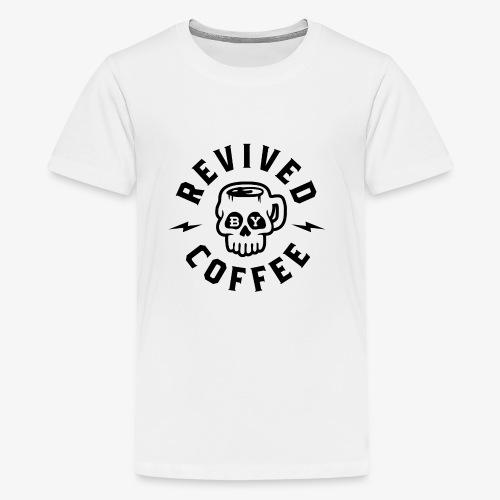 Revived By Coffee v2 - Kids' Premium T-Shirt