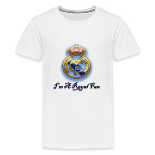 realmadridfan - Kids' Premium T-Shirt