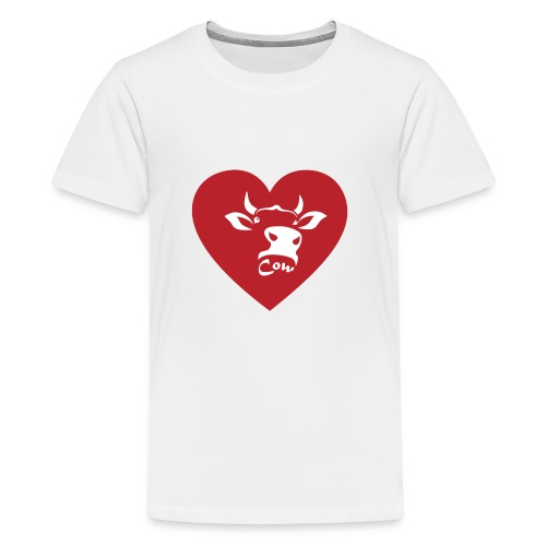 Cow Heart - Kids' Premium T-Shirt