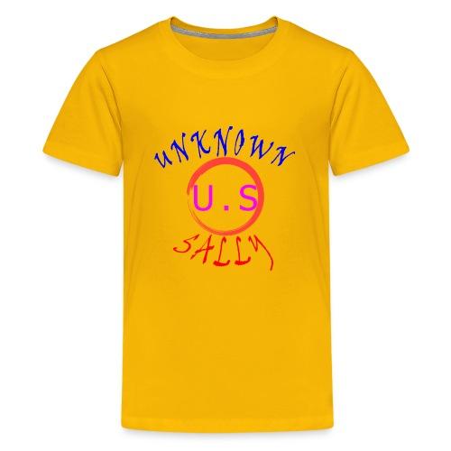 Initial Hoodie - Kids' Premium T-Shirt