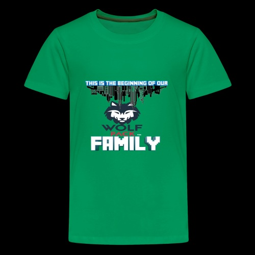 We Are Linked As One Big WolfPack Family - Kids' Premium T-Shirt
