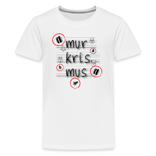 mur-kris-mus - Kids' Premium T-Shirt