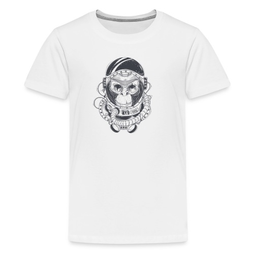 Space Chimp is Awesome - Kids' Premium T-Shirt