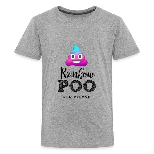 Rainbow Poo - Kids' Premium T-Shirt