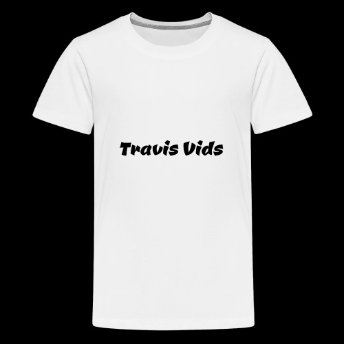 White shirt - Kids' Premium T-Shirt