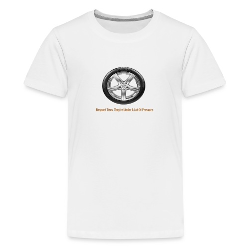 Respect Tires - Kids' Premium T-Shirt
