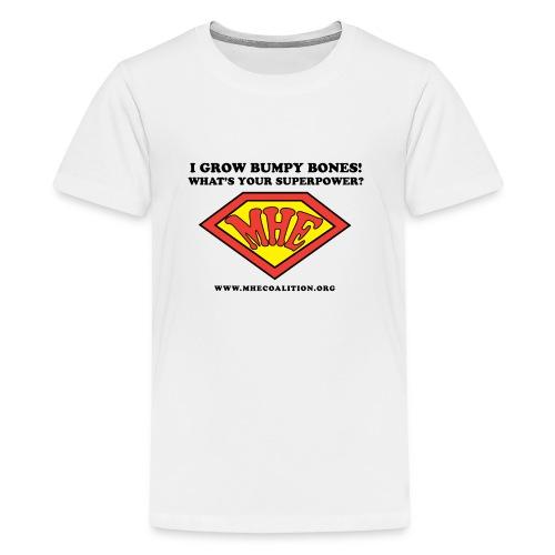 Superhero MHE 1 png - Kids' Premium T-Shirt
