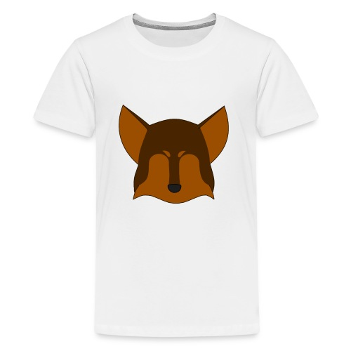 Simple Wolf Head - Kids' Premium T-Shirt