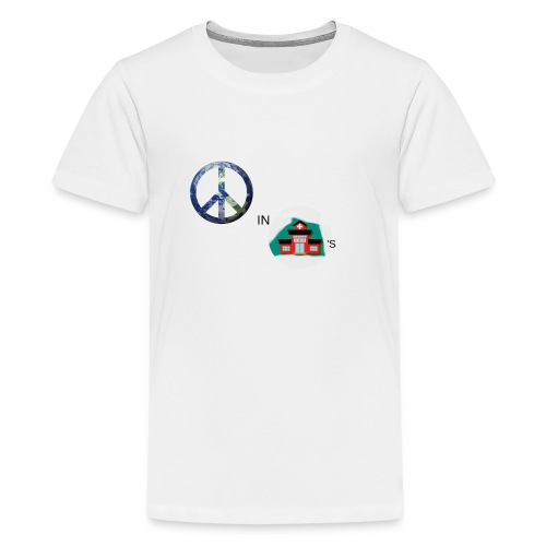 Peace In Schools - Kids' Premium T-Shirt