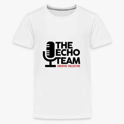 Echo Team Logo Black Letters - Kids' Premium T-Shirt