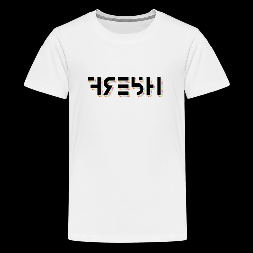 FRE5H Rainbow Hieroglyph Print - Kids' Premium T-Shirt