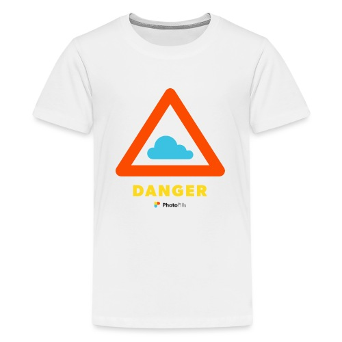 Danger Clouds! - Kids' Premium T-Shirt