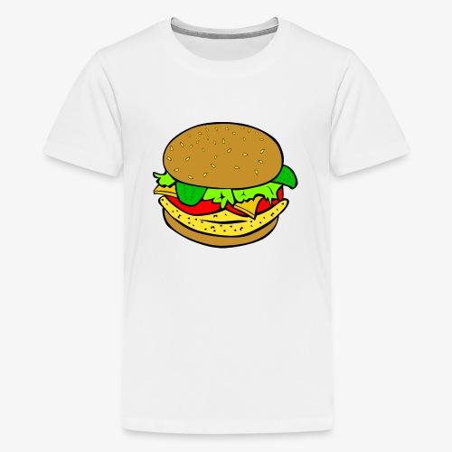 Comic Burger - Kids' Premium T-Shirt