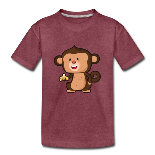 Baby Monkey - Kids' Premium T-Shirt
