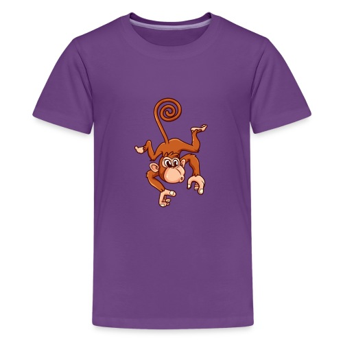 Cheeky Monkey - Kids' Premium T-Shirt