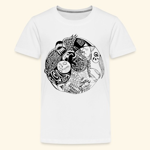 Harmonious World - Kids' Premium T-Shirt
