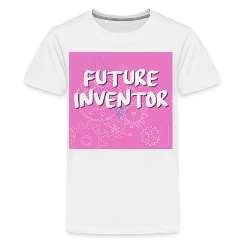 Pink Future Inventor - Kids' Premium T-Shirt