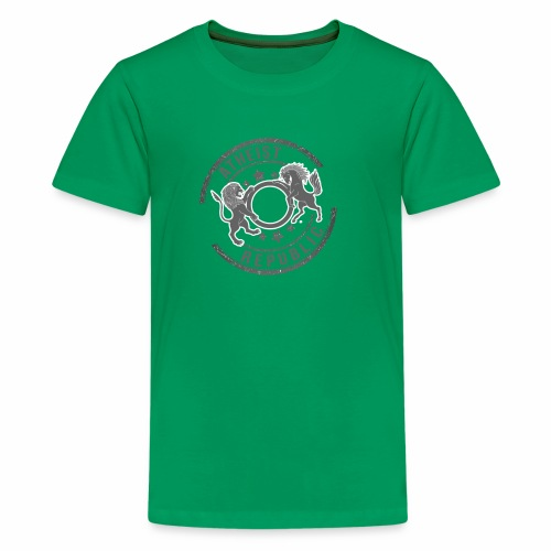 Atheist Republic Logo - Starred Stamp - Kids' Premium T-Shirt