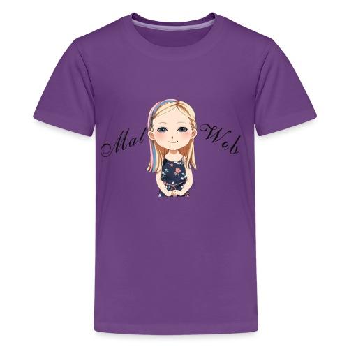 Mallory Chibi png - Kids' Premium T-Shirt