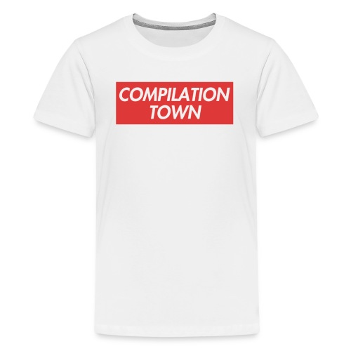 Compilation Town Supreme Parody Merch - Kids' Premium T-Shirt