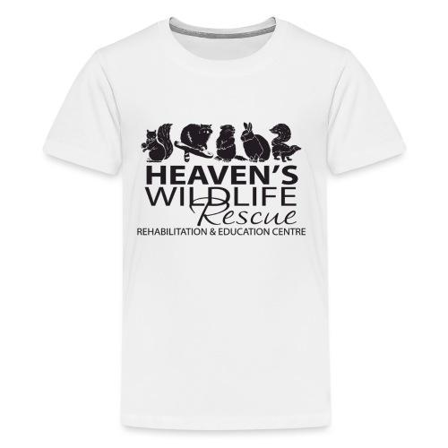 Heaven's Wildlife Rescue - Kids' Premium T-Shirt