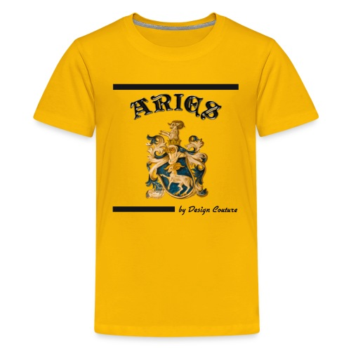 ARIES BLACK - Kids' Premium T-Shirt