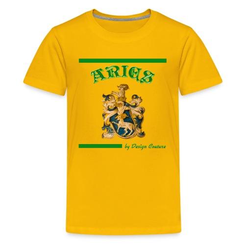 ARIES GREEN - Kids' Premium T-Shirt
