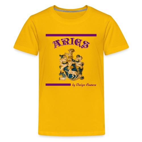 ARIES PURPLE - Kids' Premium T-Shirt