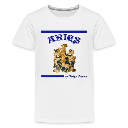 ARIES BLUE - Kids' Premium T-Shirt