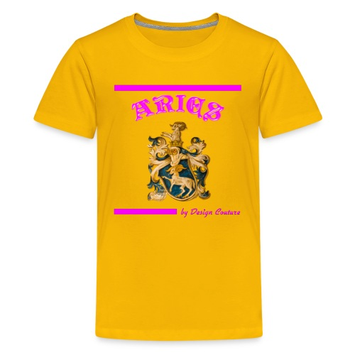 ARIES PINK - Kids' Premium T-Shirt