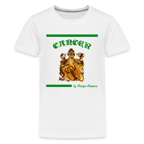 CANCER GREEN - Kids' Premium T-Shirt