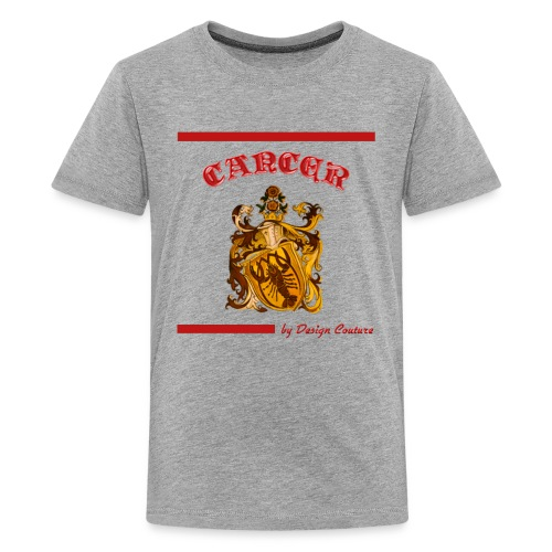 CANCER RED - Kids' Premium T-Shirt