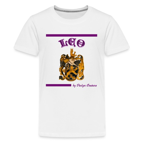 LEO PURPLE - Kids' Premium T-Shirt