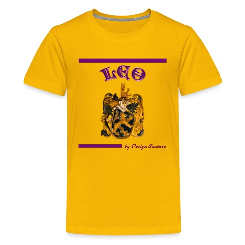 LEO PURPLE - Kids' Premium T-Shirt