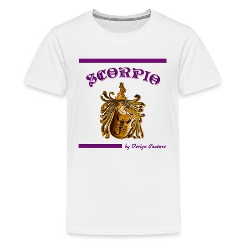 SCORPIO PURPLE - Kids' Premium T-Shirt