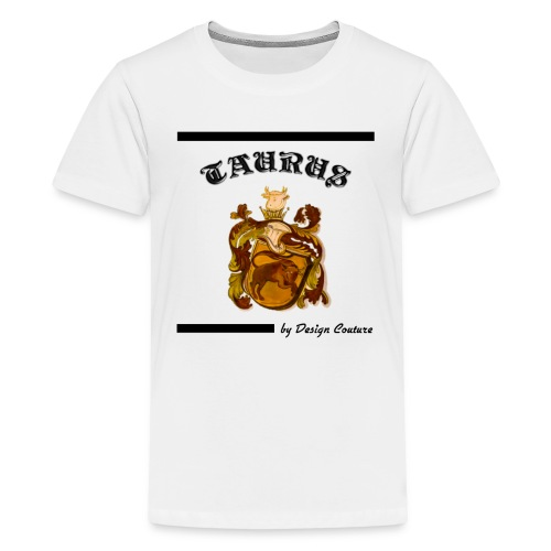 TAURUS BLACK - Kids' Premium T-Shirt