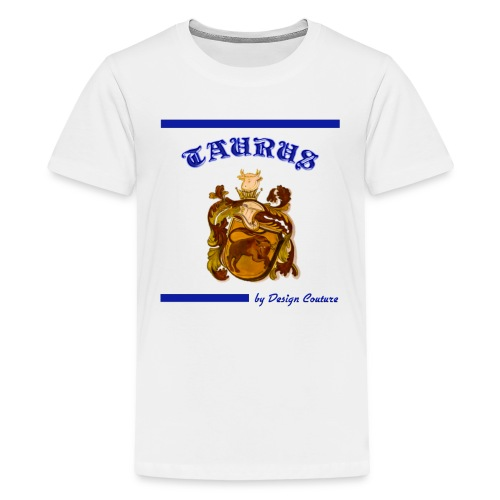 TAURUS BLUE - Kids' Premium T-Shirt