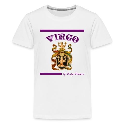 VIRGO PURPLE - Kids' Premium T-Shirt