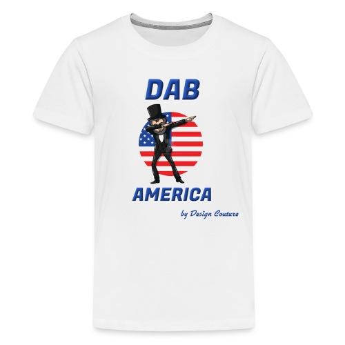 DAB AMERICA BLUE - Kids' Premium T-Shirt