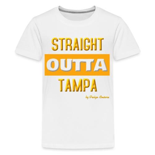 STRAIGHT OUTTA TAMPA ORANGE - Kids' Premium T-Shirt