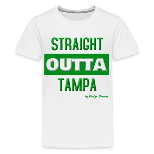 STRAIGHT OUTTA TAMPA GREEN - Kids' Premium T-Shirt