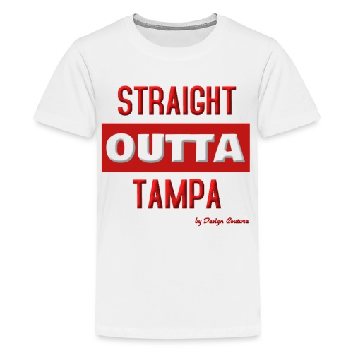 STRAIGHT OUTTA TAMPA RED - Kids' Premium T-Shirt